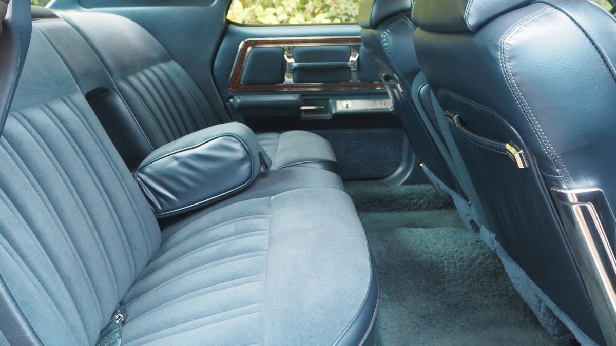 1975 Marquis interior upholstery rear